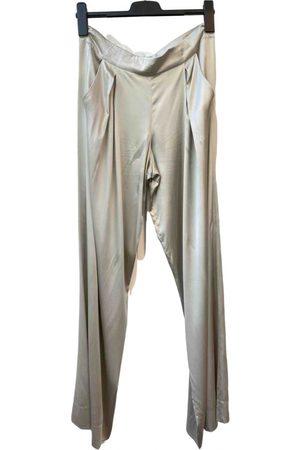 DKNY Silk straight pants