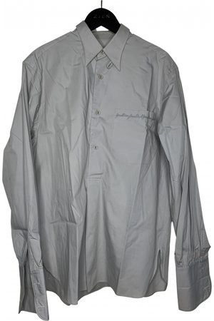 Jean Paul Gaultier Grey Cotton Shirts