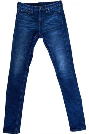 MUJI Women Jeans - Cotton - elasthane Jeans