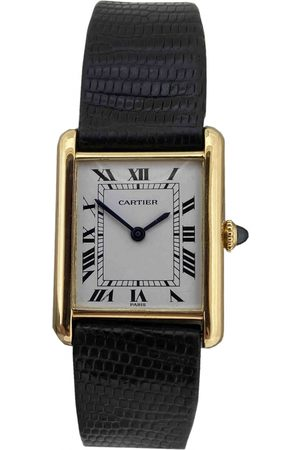 Cartier Yellow Watches
