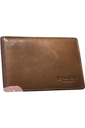Coach Leather Small Bags\, Wallets & Cases
