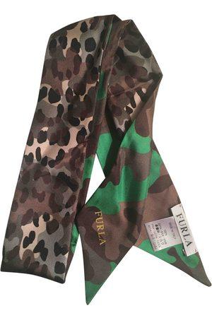 Furla Multicolour Silk Scarves