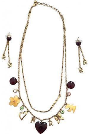 Nina Ricci Metal Jewellery Sets