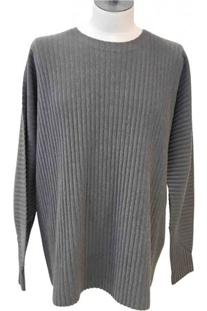 Issey Miyake Grey Polyester Knitwear & Sweatshirts