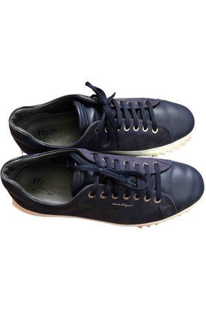 Salvatore Ferragamo Leather low trainers