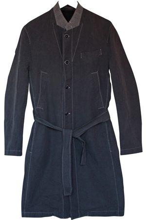 KRIS VAN ASSCHE Grey Cotton Coats