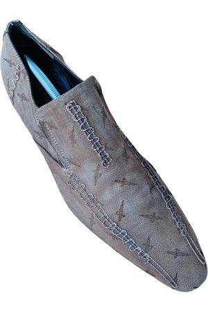 Cesare Paciotti Men Flat Shoes - Denim - Jeans Flats
