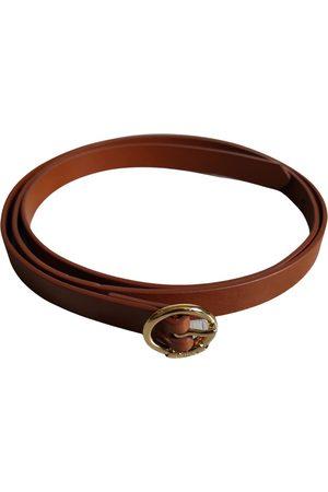 Chloé Camel Leather Belts