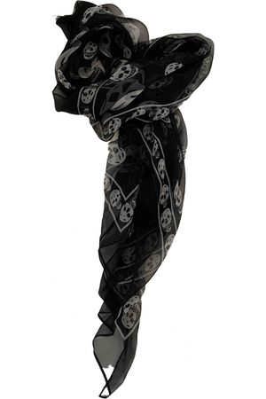Alexander McQueen Women Scarves - Silk neckerchief