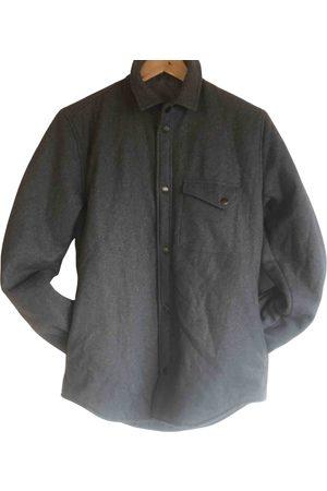 Samsøe Samsøe Men Jackets - Grey Wool Jackets