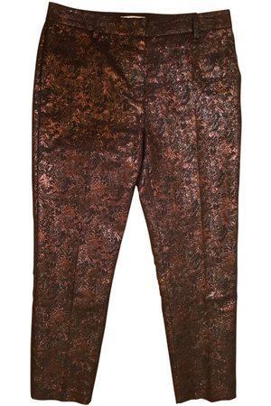 3.1 Phillip Lim Burgundy Polyester Trousers