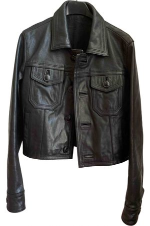 Ami Leather short vest