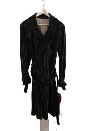 Y'S Navy Wool Coats