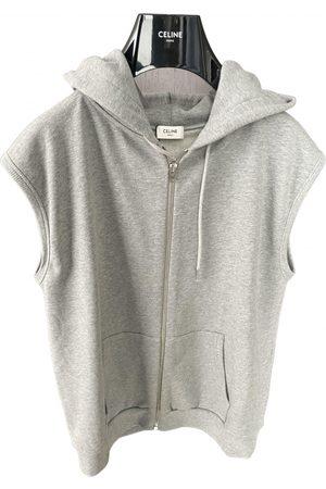 Celine Grey Cotton Knitwear & Sweatshirt