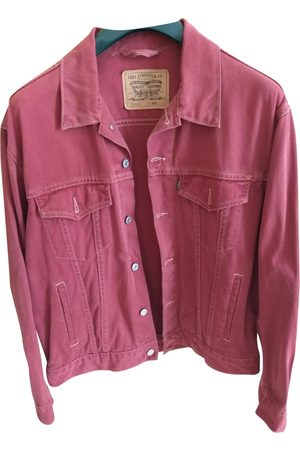 Levi's Burgundy Denim - Jeans Jackets