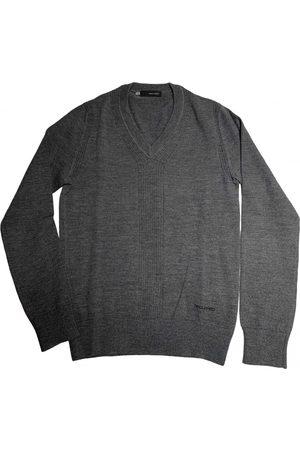 Dsquared2 Grey Wool Knitwear & Sweatshirts