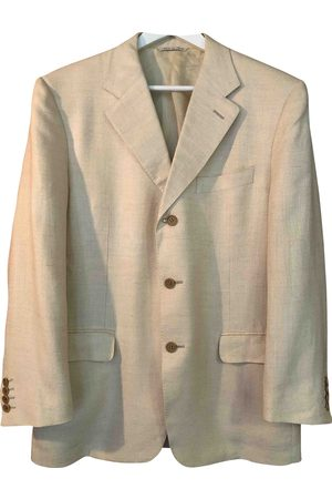 CANALI Ecru Silk Jackets