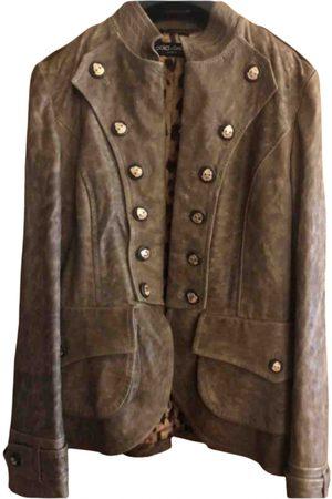Dolce & Gabbana Women Leather Jackets - Leather jacket