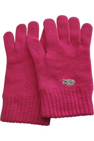 Lacoste Wool Gloves