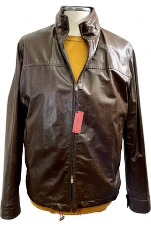ISAIA NAPOLI Leather jacket