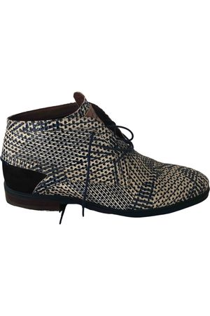 Floris van Bommel Multicolour Leather Boots