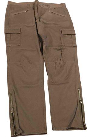 The White Company Khaki Cotton Trousers