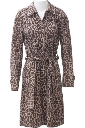 Dolce & Gabbana Suede Trench Coats