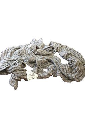 Diane von Furstenberg Grey Synthetic Scarves