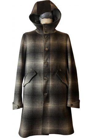 John Varvatos Men Coats - Wool dufflecoat