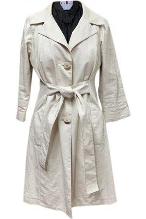 Elisabetta Franchi Linen Trench Coats