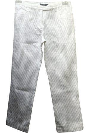 MASSIMO REBECCHI Cotton Trousers