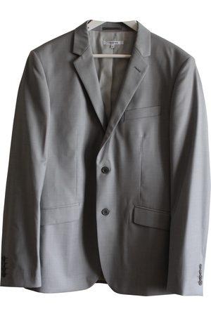 Carven Grey Wool Jackets