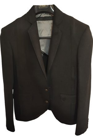 Karl Lagerfeld Anthracite Wool Jackets