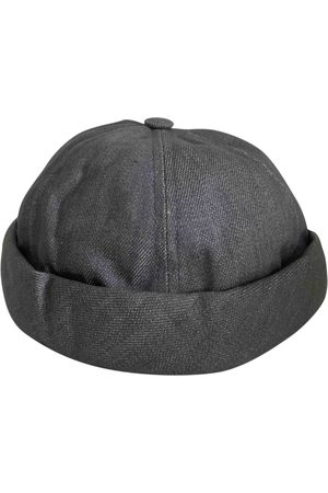 Béton ciré Grey Cloth Hats & Pull ON Hats