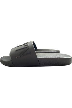 VALENTINO GARAVANI Men Sandals - Anthracite Rubber Sandals