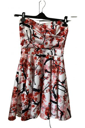 Relish Women Dresses - Multicolour Cotton - elasthane Dresses
