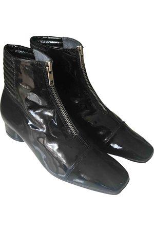 Colisée De Sacha Patent leather ankle boots