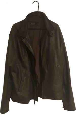 Polo Ralph Lauren Khaki Leather Jackets