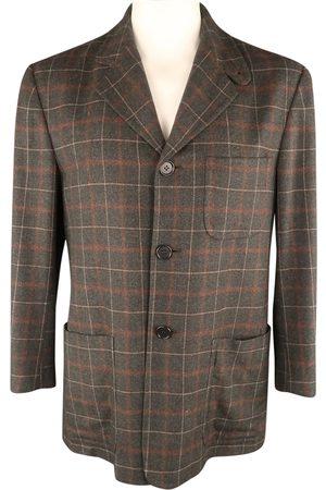 Kiton Grey Cashmere Jackets