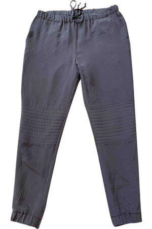 ELEVENTY Silk Trousers