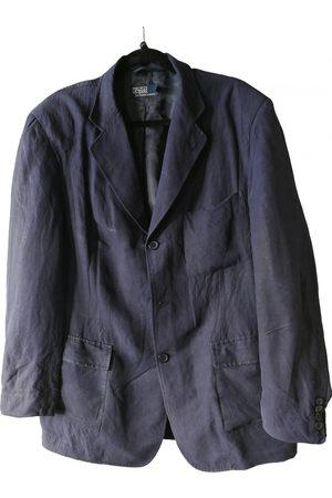 Polo Ralph Lauren Navy Viscose Jackets