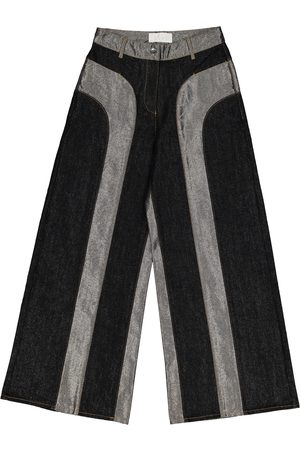 Kéji Metallic Cotton Jeans
