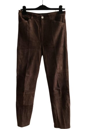 SPRWMN Suede Trousers