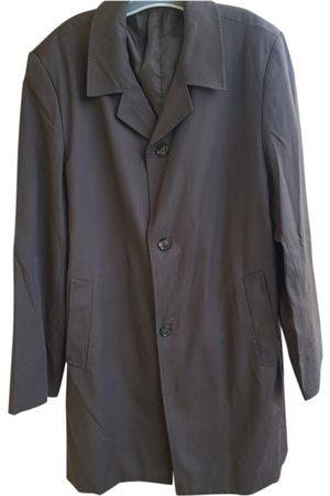 AUTRE MARQUE Men Coats - Anthracite Polyester Coat
