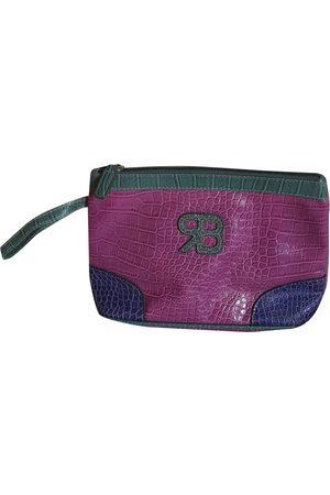 Rocco Barocco Women Clutches - Vegan leather clutch bag