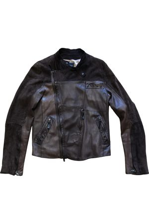 Costume National Leather Jackets