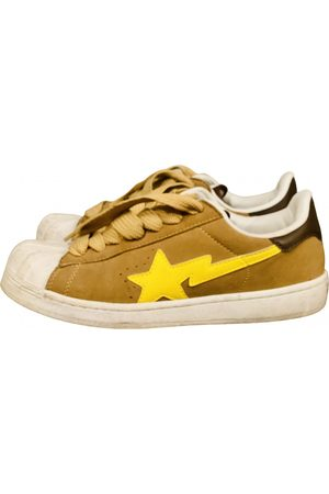 AAPE BY A BATHING APE Suede Trainers