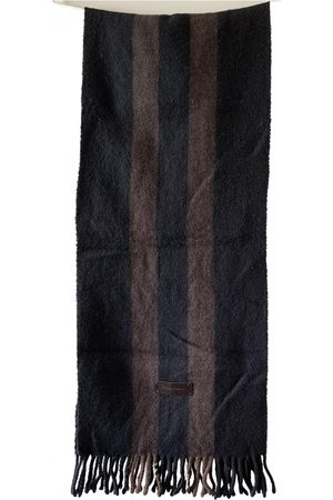 Dolce & Gabbana Men Pocket Squares - Wool scarf & pocket square