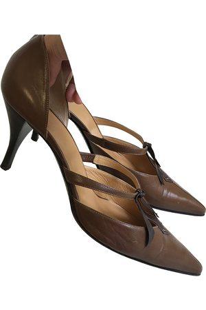 Hermès Leather heels