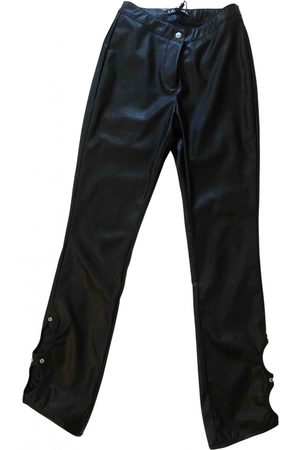 I.AM.GIA Leather straight pants